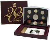 2002 Proof Set Flat Standard